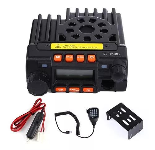 Rádio base movel baofeng dual band 25w vhf/uhf mini-8900