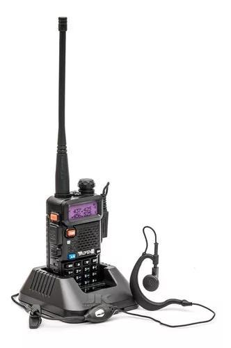 Rádio comunicador dual band baofeng uv-5r 400-520 mhz +