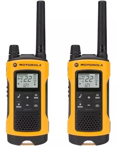 Rádio comunicador motorola talk about t400br resistente ág