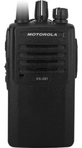 Rádio comunicador motorola uhf vx 261 5wats