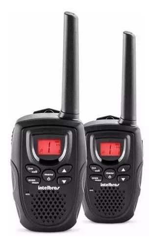 Rádio comunicador rc 5002 c/ 2 fones intelbras