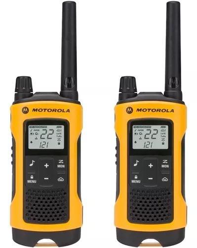 Rádio comunicador talkabout t400br amarelo motorola