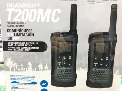 Rádio ht talkabout t200mc motorola
