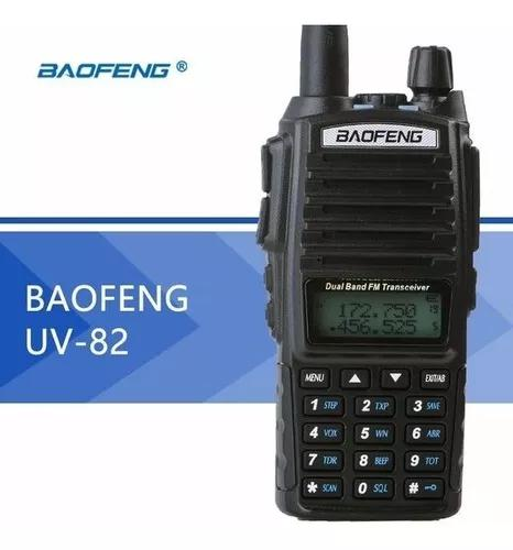 Rádio ht walk talk baofeng uv-82 dual band uhf vhf fm