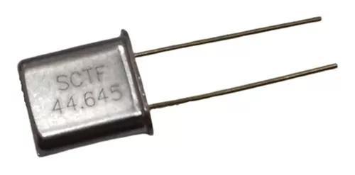 Rádio motorola gm300 cristal 44,645mhz 44.645mhz 44645
