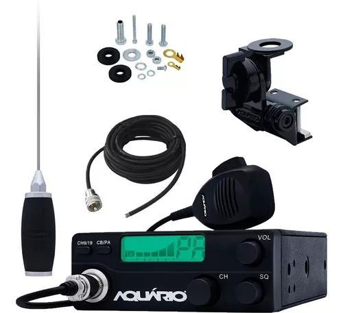 Rádio px 40 canais rp-40 antena 1,4m cabo 5,5m suporte