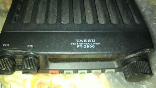Rádio vhf yaesu ft 2900 r. rádio amador