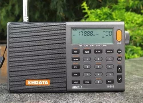 Rádio xhdata d-808 aviacao radio amador px am fm lw sw ssb
