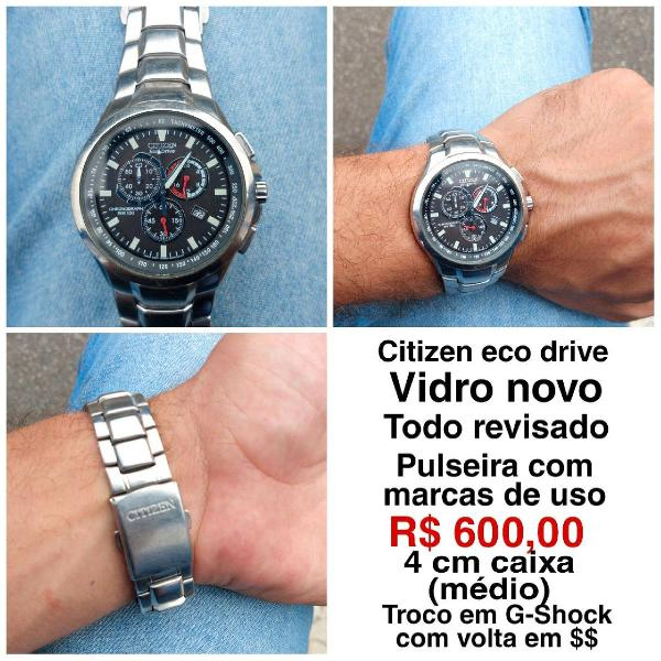 Relógio citizen eco drive
