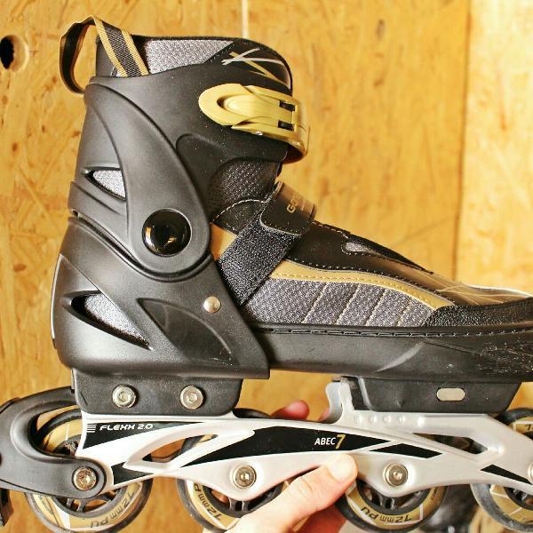 Roller/patins ajustável