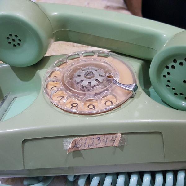 Telefone analógico retrô