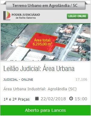 Terreno Industrial - Agrolândia
