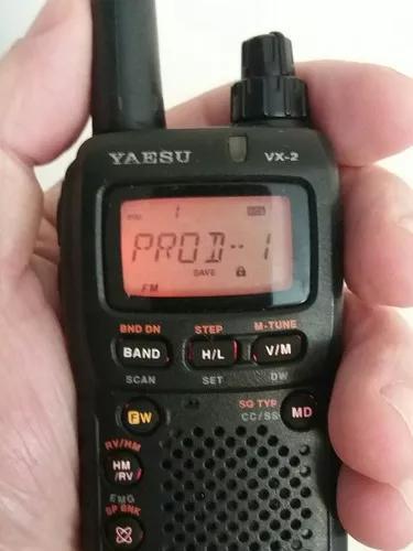 Yaesu vx2 com bateria extra e capa