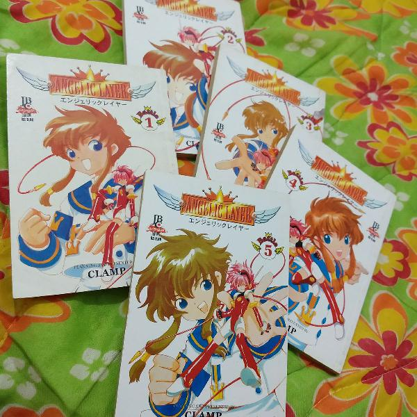 angelic layer mangá clamp completo