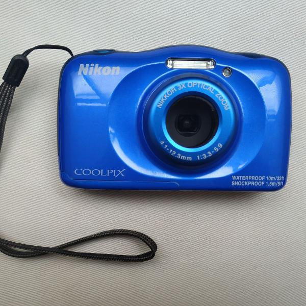 Nikon COOLPIX S3300 16.0MP Cámara Digital-Azul