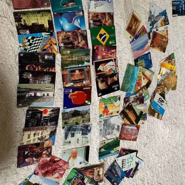 Coleçao de cartões telefonicos