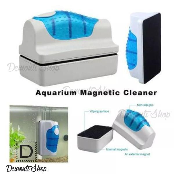 Limpador magnético flutuante p/ limpeza do vidro do