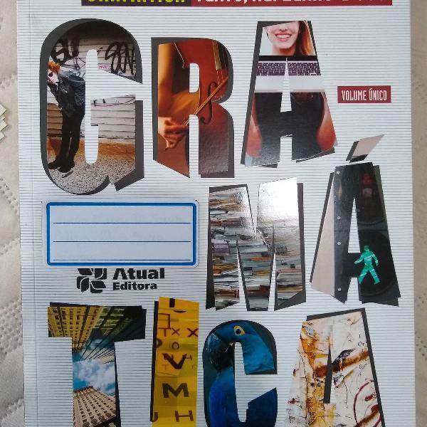 Livro gramática texto, reflexão e uso