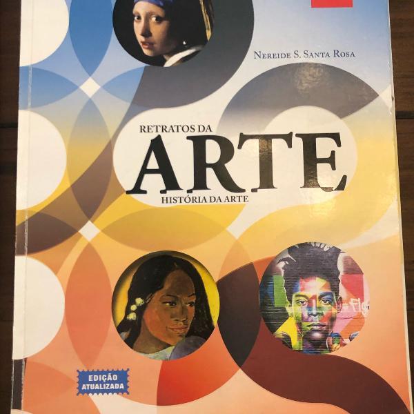 Livro retratos da arte história da arte nereide s. santa