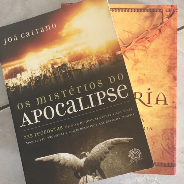 Livros a história e os mistérios do apocalipse