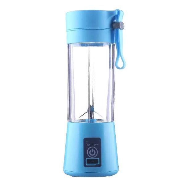 Mini liquidificador portátil shake juice cup 6 laminas +
