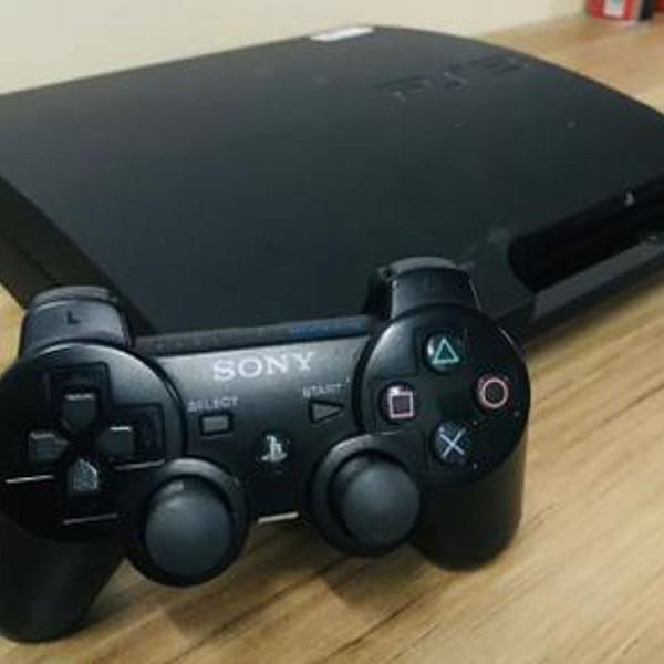Ps3 - playstation 3 500gb com 10 jogos e sony move