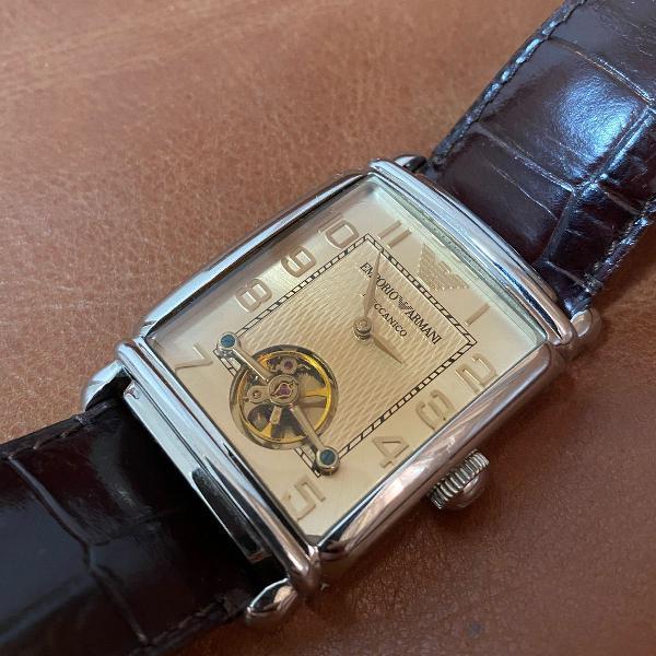 Relógio masculino automático empório armani