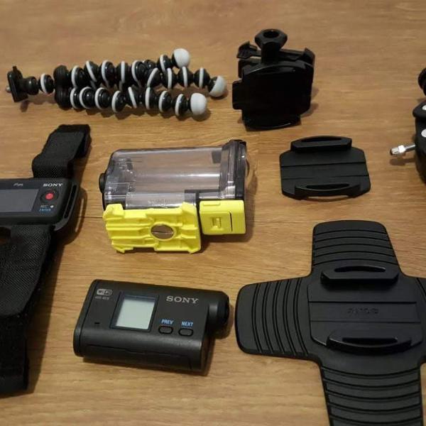 Sony action cam - câmera de ação as15