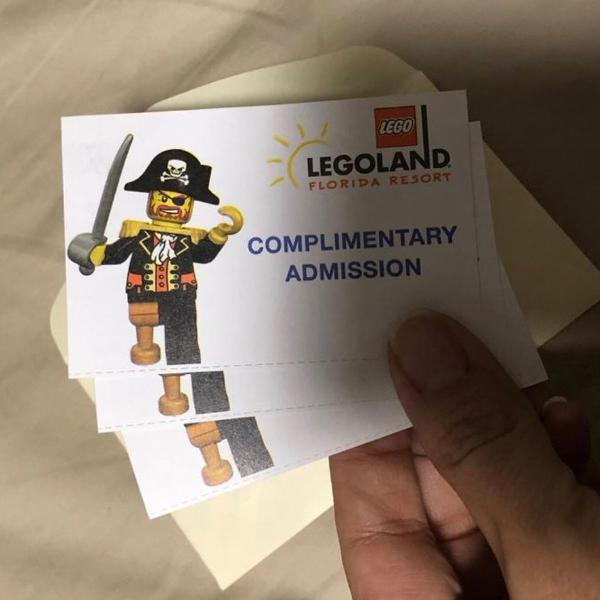 Tickets legoland