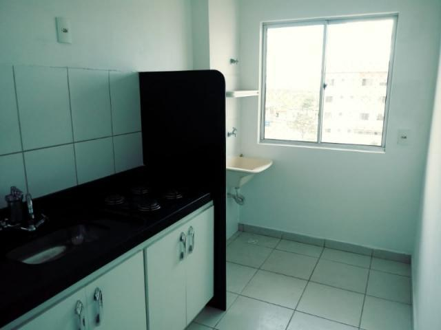 Aluguel - apartamento 2 qts - setor total ville - santa