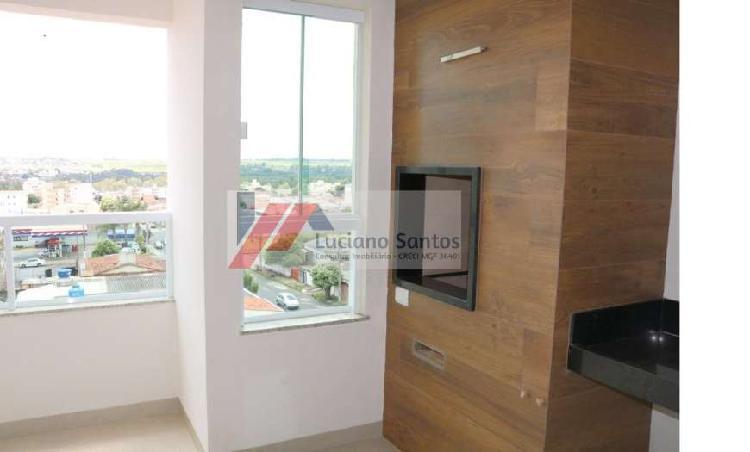 Apartamento 2/4, 01 suíte com 71 m2