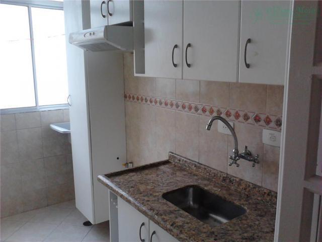 Apartamento com 2 dormitórios para alugar, 50 m² por r$