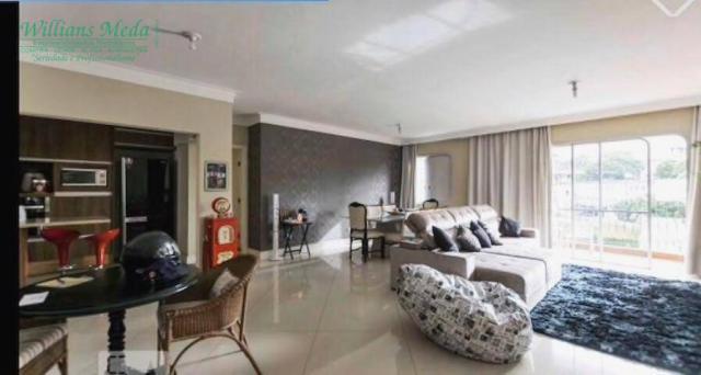 Apartamento com 3 dormitórios para alugar, 210 m² por r$