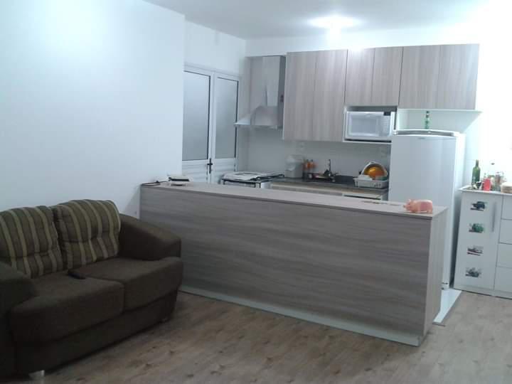 Apartamento de 70m² com 2 dormitórios sendo 1 suíte e 1