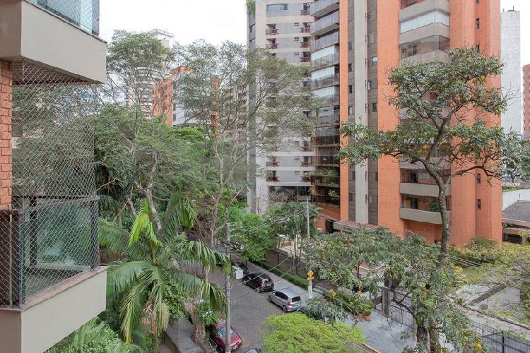 Apartamento em moema pé no parque do ibirapuera, 320