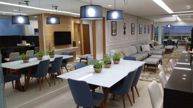 Apartamento novo de 3 suítes plenas no setor marista -