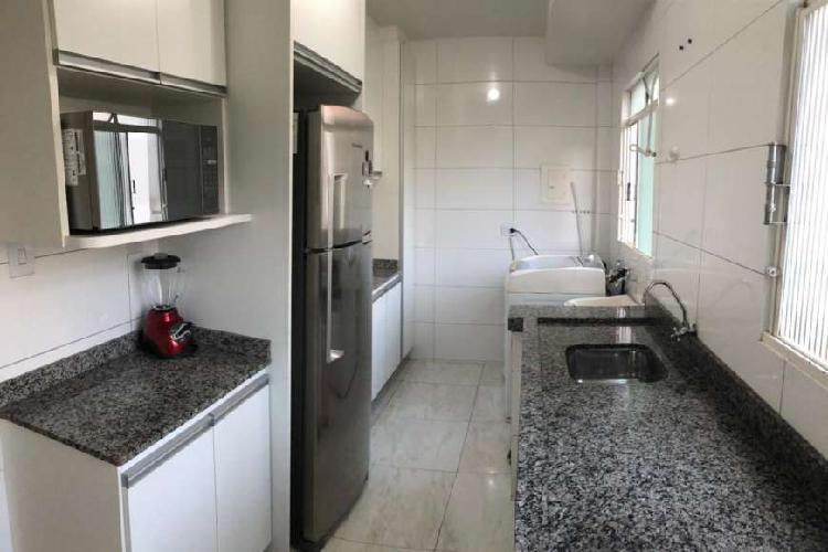 Apartamento para venda com 57 metros quadrados com 3 quartos