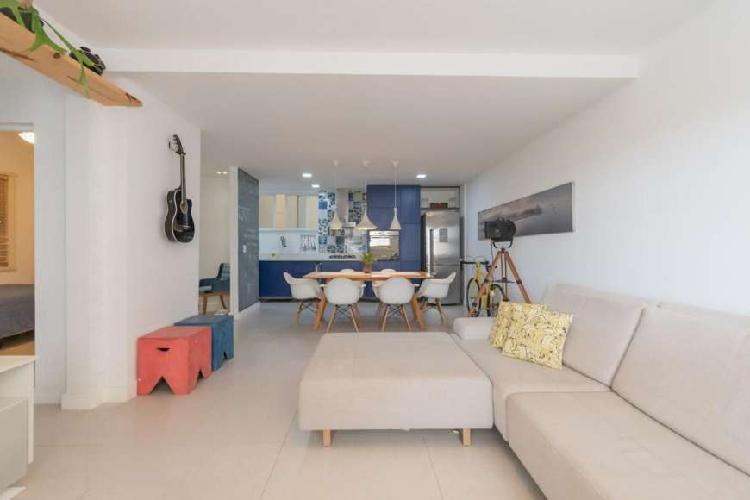 Apartamento para venda tem 88 metros quadrados com 2 quartos