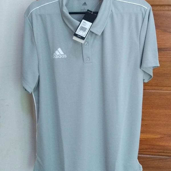 Camisa polo adidas masculino g poliéster.