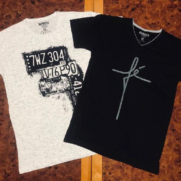 Camiseta Masculina Estampada 2020
