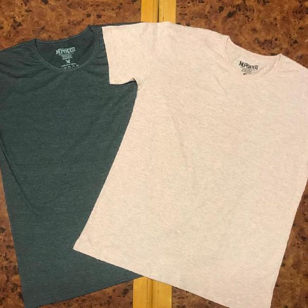 Camiseta masculina lisa sem estampa 2020