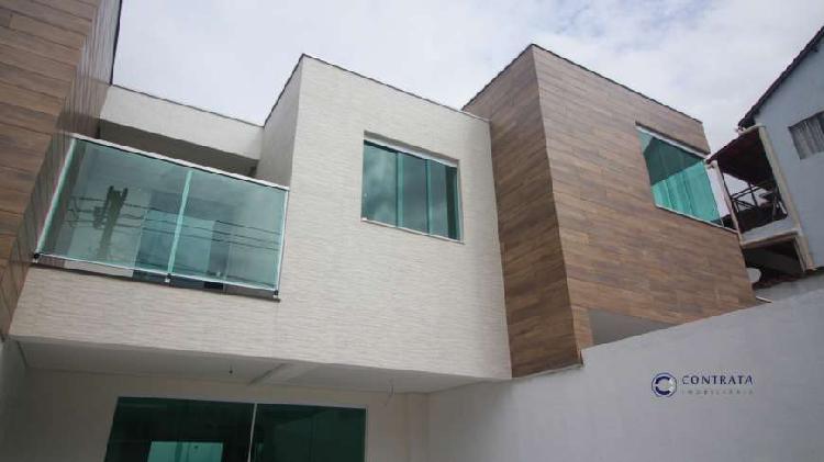 Casa geminada duplex nova - bh - b. itapoã - 3 qts (3