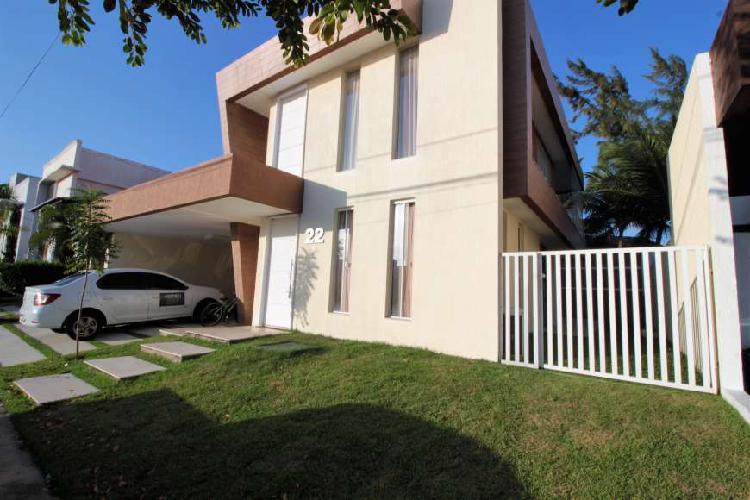 Casa em condomínio fechado 240 m², 4/4 bosque das flores,