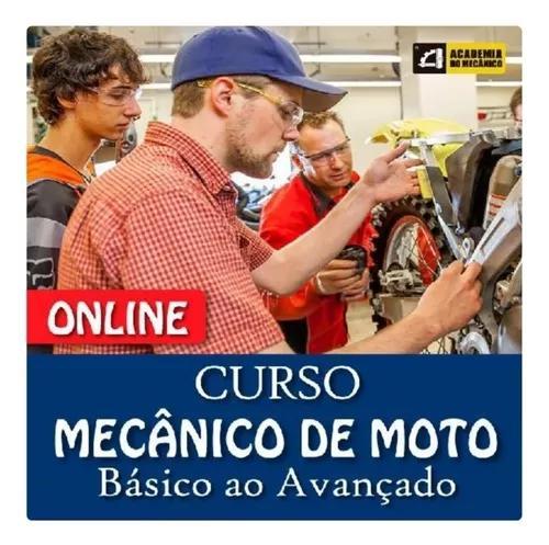 Curso Mecânico De Moto Completo L Acad