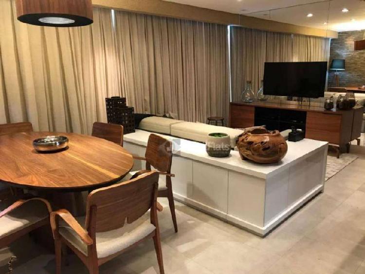 Flat com 1 quarto para alugar, 83 m² vila olímpia - são