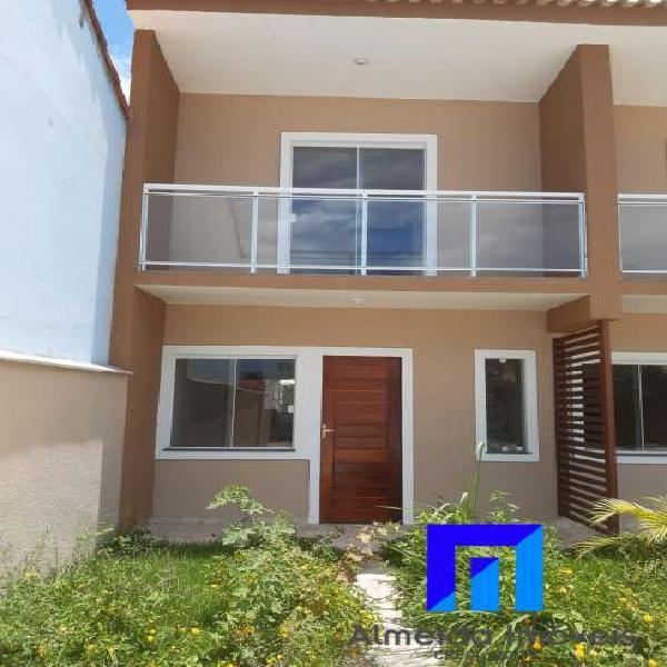 Linda casa Duplex com churrasqueira, Itaipuaçu!!!