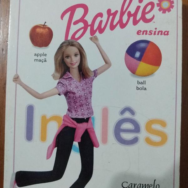 Livro dicionário ilustrado barbie português inglês