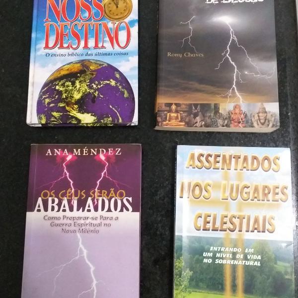 Livros cristão/evangélico - diversos títulos