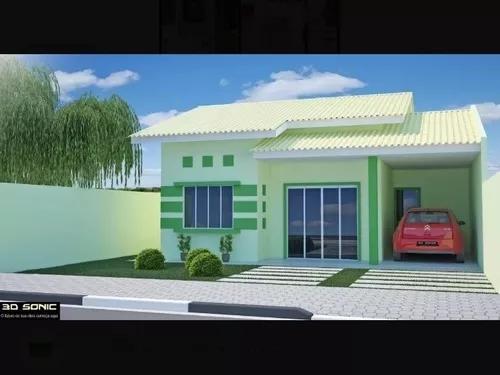 Projeto arquitetônico pavimento térreo até 80m².
