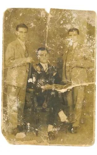 Restauro de fotos antigas